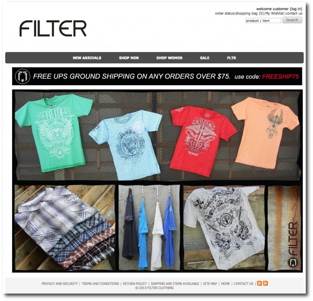 Filterclothing